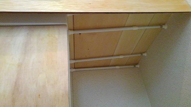 台を下から見ると