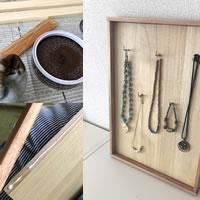 塗るだけでワンランク上の仕上がり!ネックレス収納を簡単DIY☆