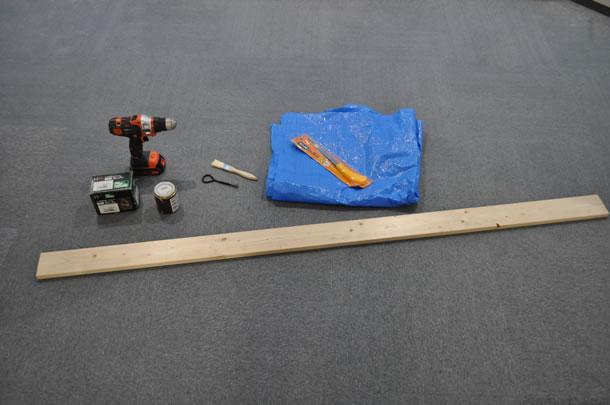中途半端な長さの1×4(ワンバイフォー)材1本
