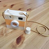 【レシピ記事】 DIYキットに挑戦【おもちゃの木製カメラ】