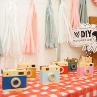 かわいいおもちゃの木製カメラができました♪『ART & DIY LIFE festa 2019』レポート