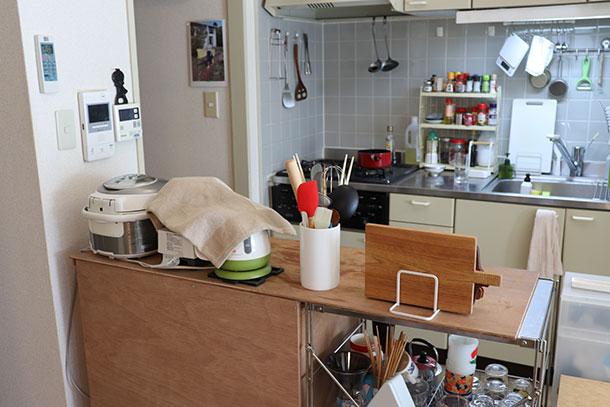 今回変身させたのは部員とものキッチン