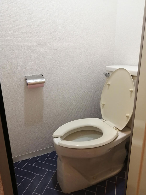 BEFOREは普通のトイレです