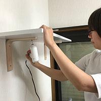 初心者が石膏ボードアンカーを使って「壁面収納」を作ってみた! ②棚板編