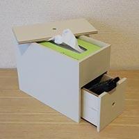【連載】『テーブルの上で簡単DIY』リビングのこまごまものまで収納!ティッシュケースを作ろう