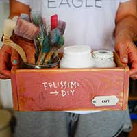 【連載】簡単DIY!ヴィンテージ風のかっこいいボックスを作ろう②持ち手加工方法【anさんのおうちと暮らしがもっと楽しくなるDIYダイアリー】