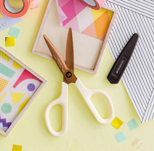 フェリシモ女子DIY部 ベタベタを気にしない! テープにくっつきにくいプレミアムはさみ