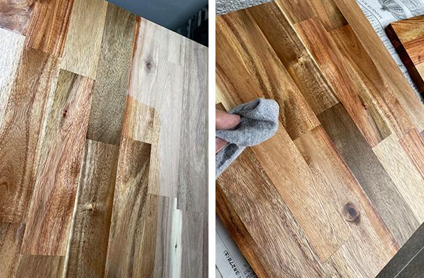 木材の塗装