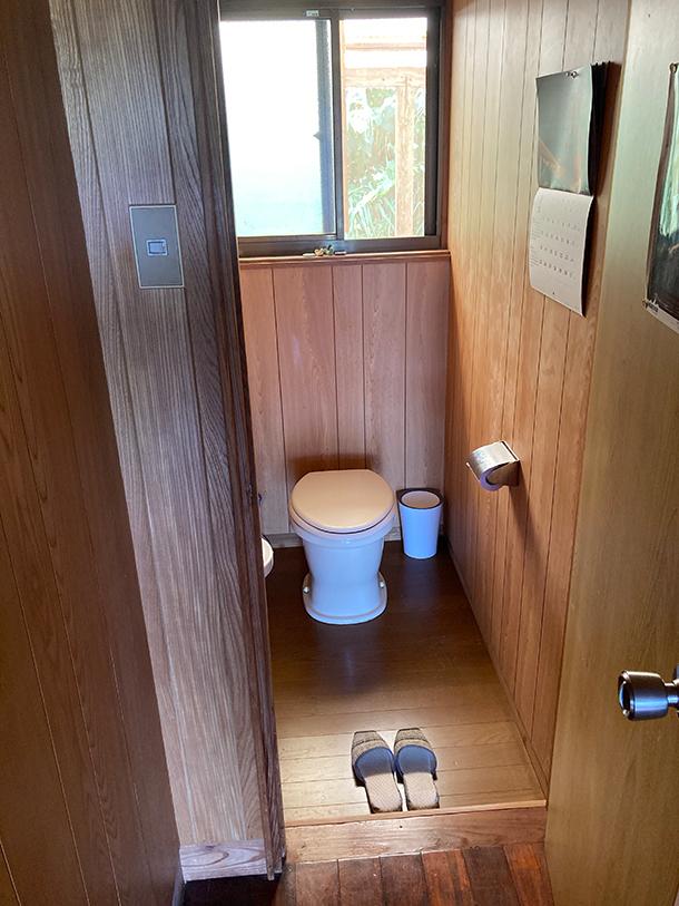 改造前のトイレ