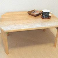 落書きだらけのテーブルをツルツルピカピカに!削って塗り替えてみた