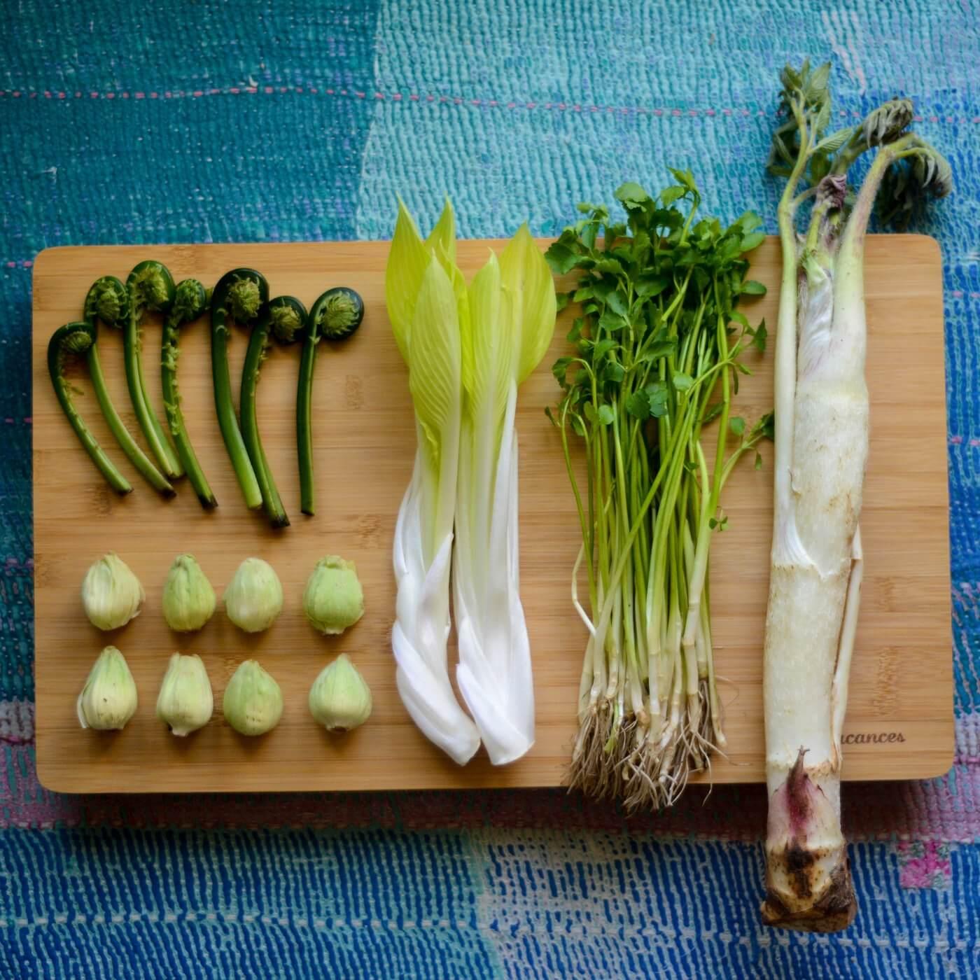 春を食べる〜山菜って意外に食べやすい