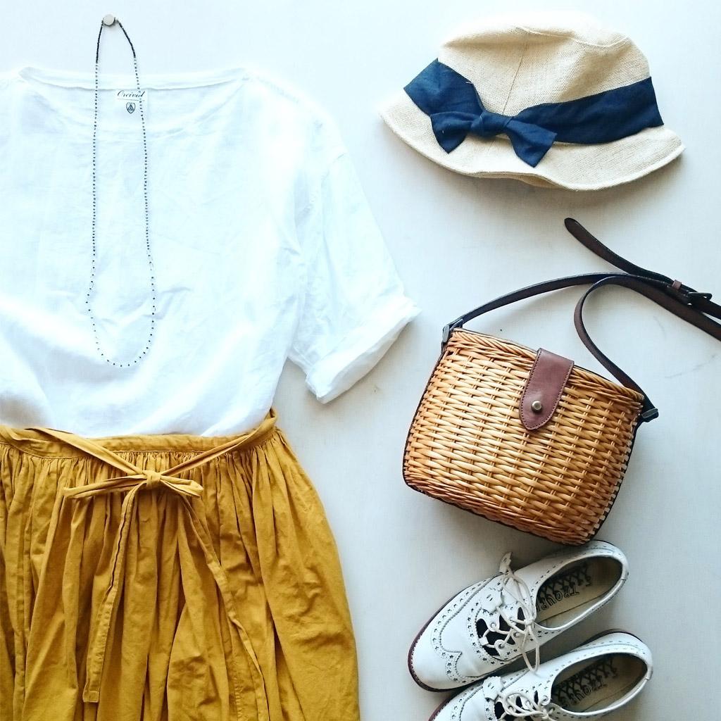 夏旅の服装