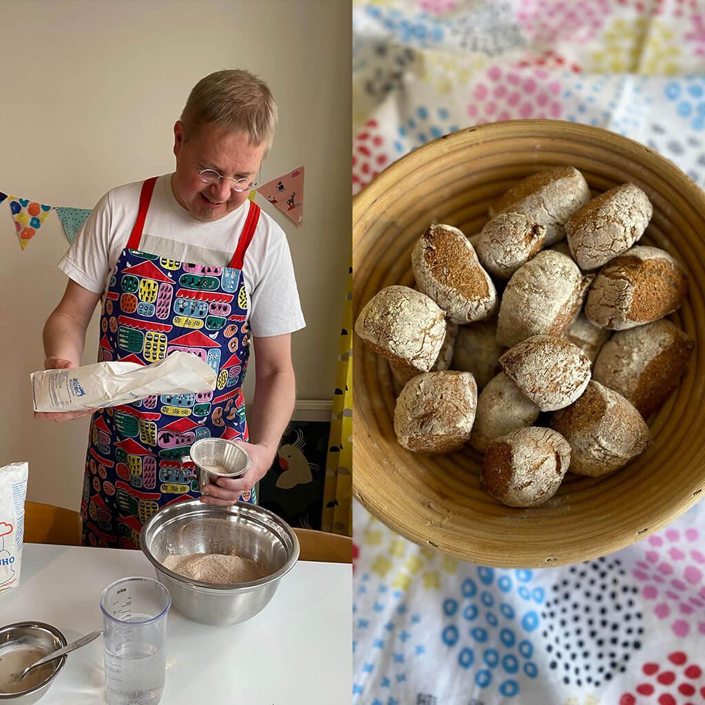 テキスタイルで暮らしを彩る 手づくりパンと北欧の週末