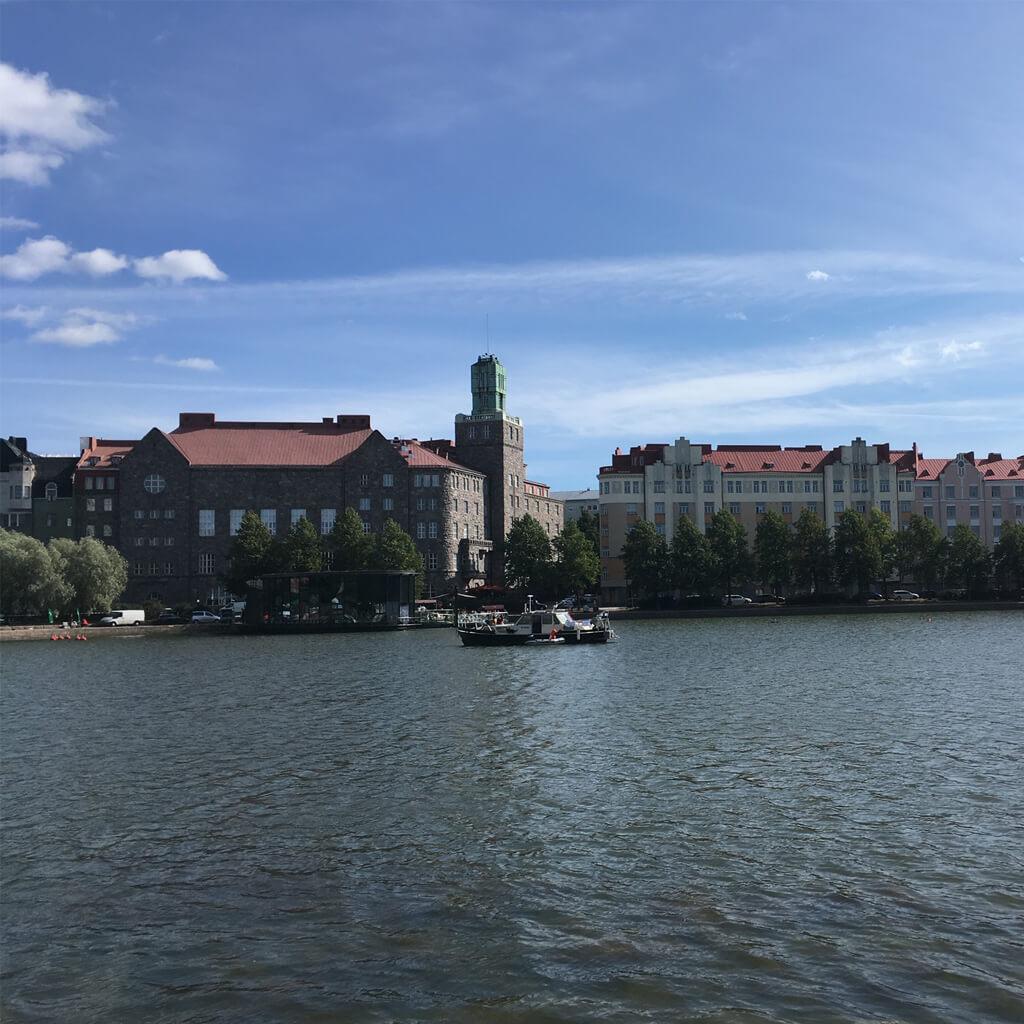 私の住む街 ヘルシンキ