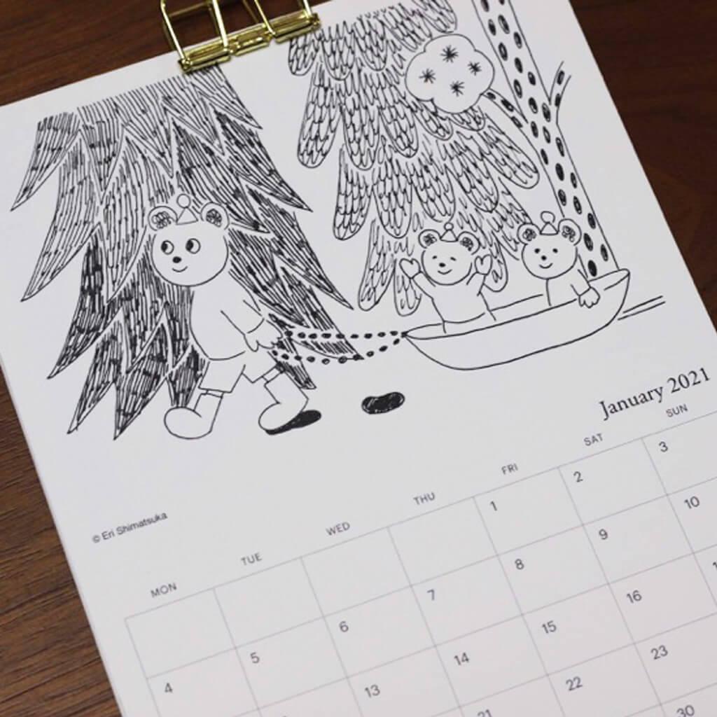 フィンランドの四季を旅するカレンダー