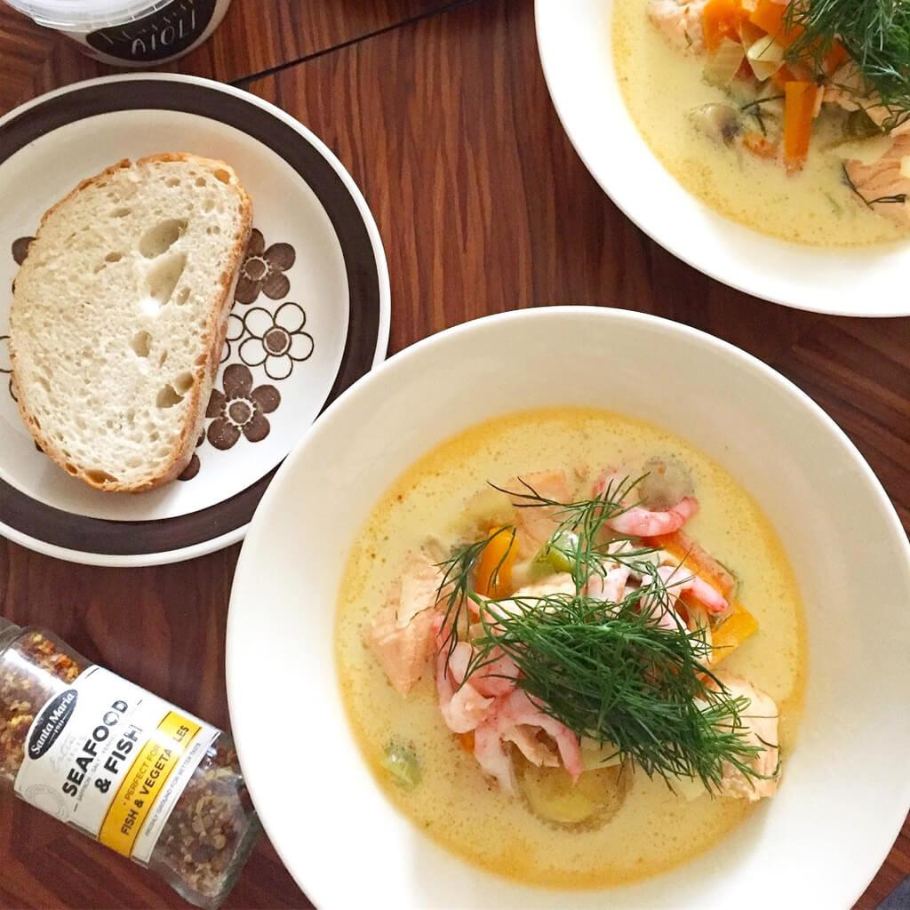 北欧スウェーデンの味「フィッシュスープ」