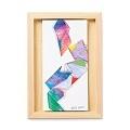 脳がめざめるお絵かきプログラム 紙セット3 「つながる色と形 フロッタージュパズル」