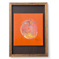 脳がめざめるお絵かきプログラム オイルパステル編紙セット6 「りんご・リンゴ・林檎」