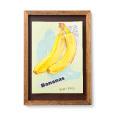 脳がめざめるお絵かきプログラム オイルパステル編紙セット8 「バナナを描く」