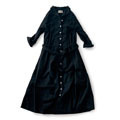 【Sunny clouds Buy 2 get 10%OFF discount product】Sunny clouds Button Front Black Dress <women>