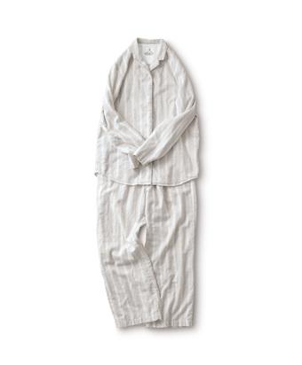 サニークラウズ ストライプのパジャマ〈レディース〉