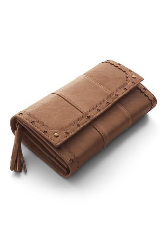 はまじとコラボ リブ イン コンフォート ずっと使いたい とっておきの本革長財布〈ベージュ〉