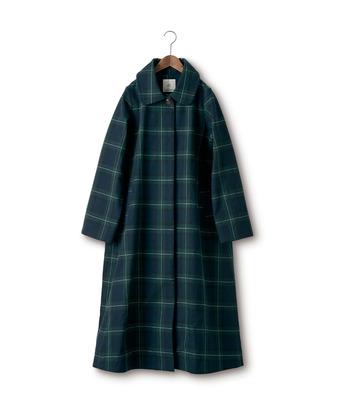 SUNNY CLOUDS ponさんのタータンチェックコート〈レディース〉