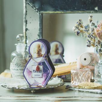 魔法部×Spin 魔女の香水瓶アクセサリーケース