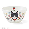 Flower and cat deep bowl collection