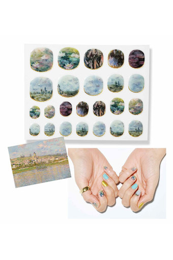 MEDE19F Monet nail sticker collection
