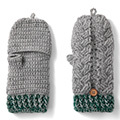 毛糸で編んで謎解き気分 よくばりかぎ針手ぶくろの会