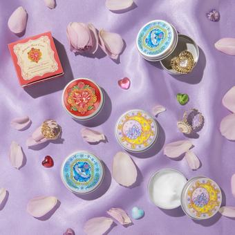 魔法部 ときめく花の香りを手のひらに 変身コンパクト風ハンドクリームの会