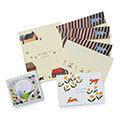 cozyca products 人気作家さんのかわいいイラストが楽しめる  紙もの文具セット  PART2の会