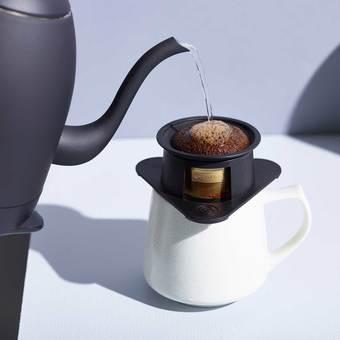 1杯を至福に 化学変化に強い純金コーティングのコーヒーフィルター