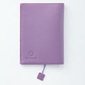 OSYAIRO フォトポケット付き文庫本&手帳カバー〈紫〉