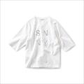 サニークラウズ 肌になじむTシャツ〈レディース〉白