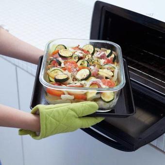 ジョセフジョセフ 冷凍保存からオーブン調理まで  重ねて収納ネストガラスストレージ4サイズセット