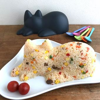 """able to make cat-shaped rice, jelly and even snowman! Cute cat mold """"cat cup"""""""