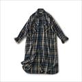 and myera Autumn check shirt dress