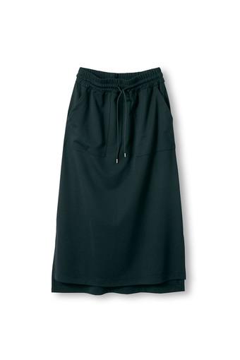 アヴェクモワ ポンチのペンシルスカート〈黒〉