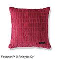 フィンレイソン 金華山パイルジャカードの華やか立体織りクッションカバー〈CORONNA〉