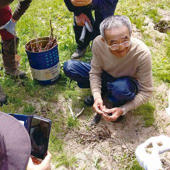 【Merry Point(1,500mr)】Hakkaido 木村秋則自然栽培農学校と木村秋則さんの指導活動支援