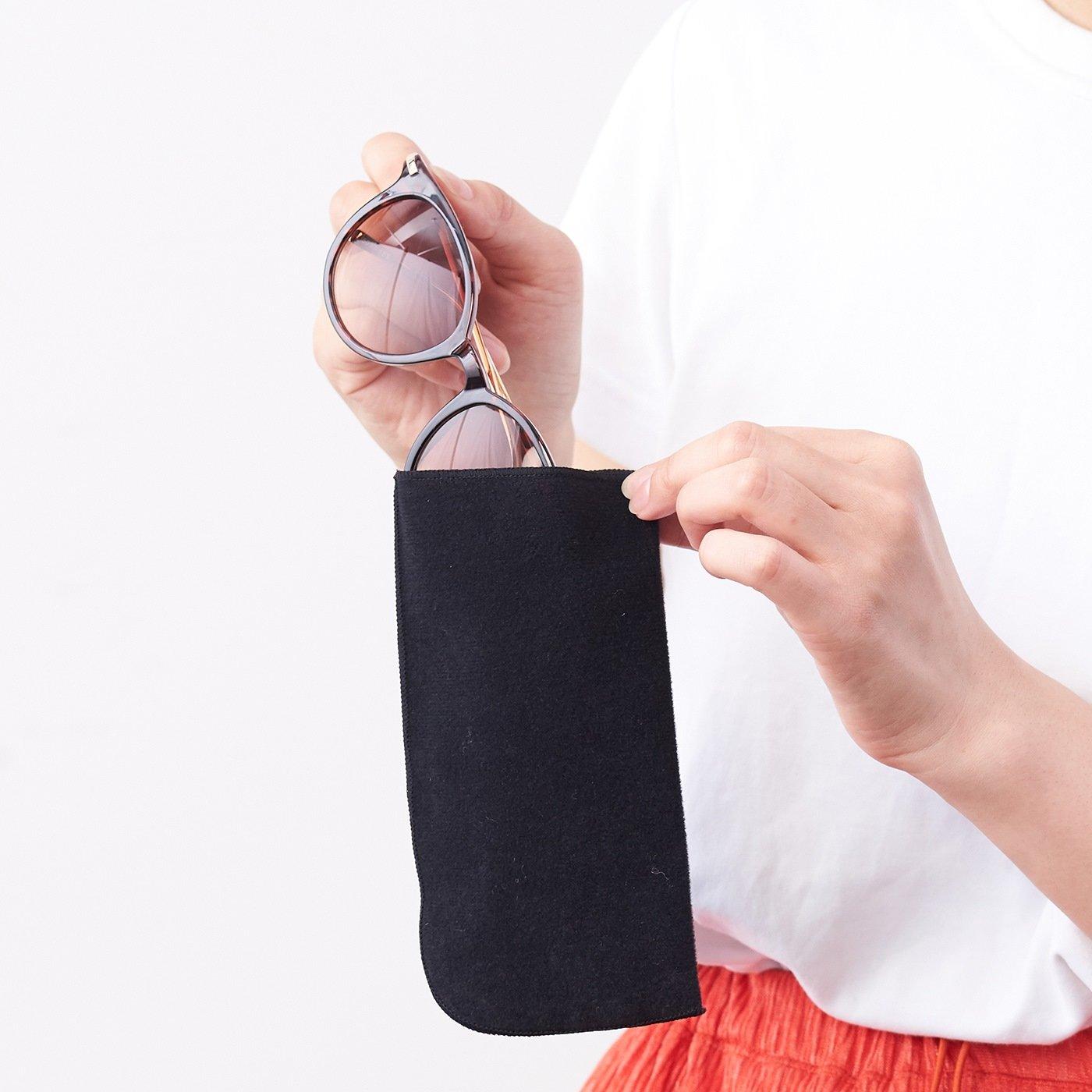 IEDIT[イディット] SELECT 日よけ対策!カラーフレームが旬のファッション用グラス〈デミ〉