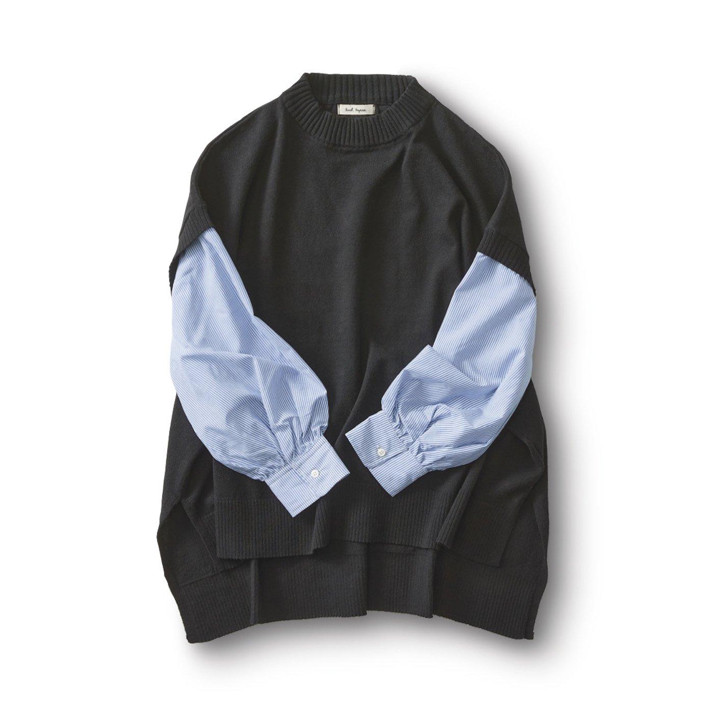 and myera ニットベストシャツ