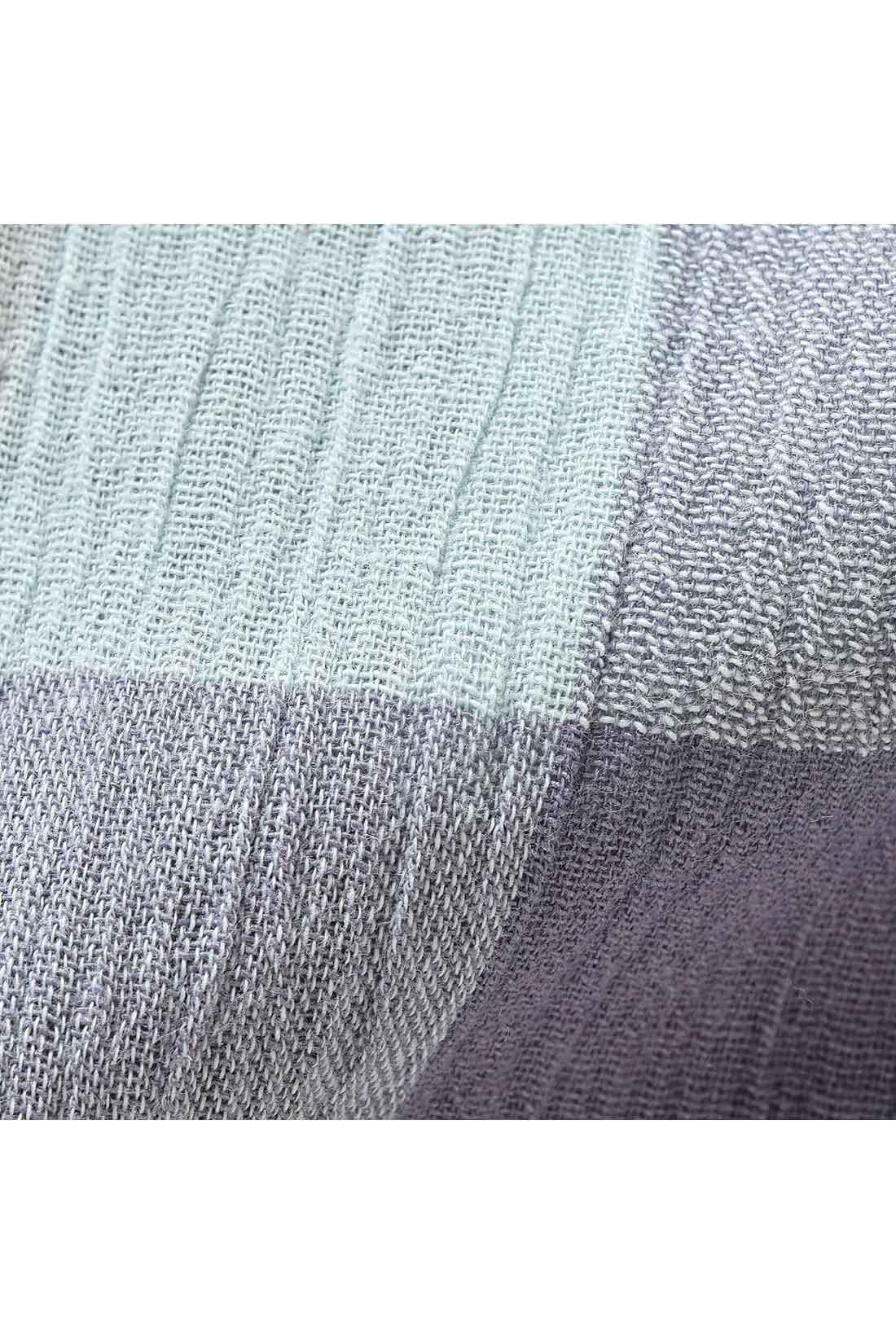 汗をかいても汗にペタッと張り付きにくい楊柳素材。