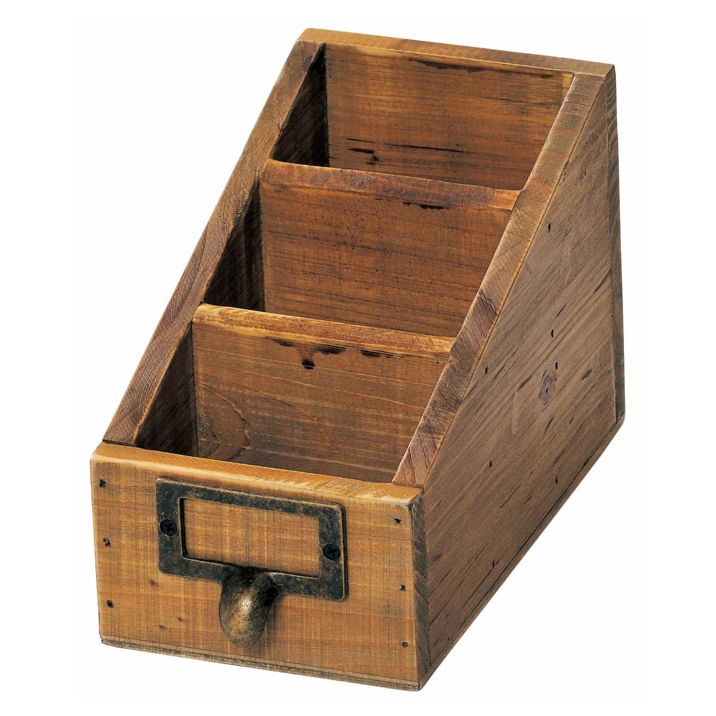 あたたかみのある木製アンティーク風 スタンドラック