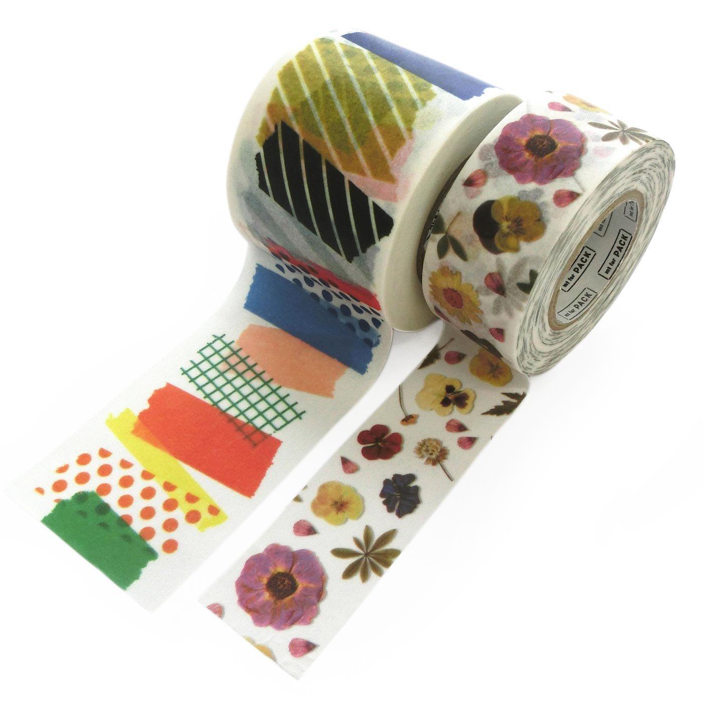 かわいいだけじゃない! 強粘着! クラフトテープがわりにしっかり貼れる、梱包用テープセットの会