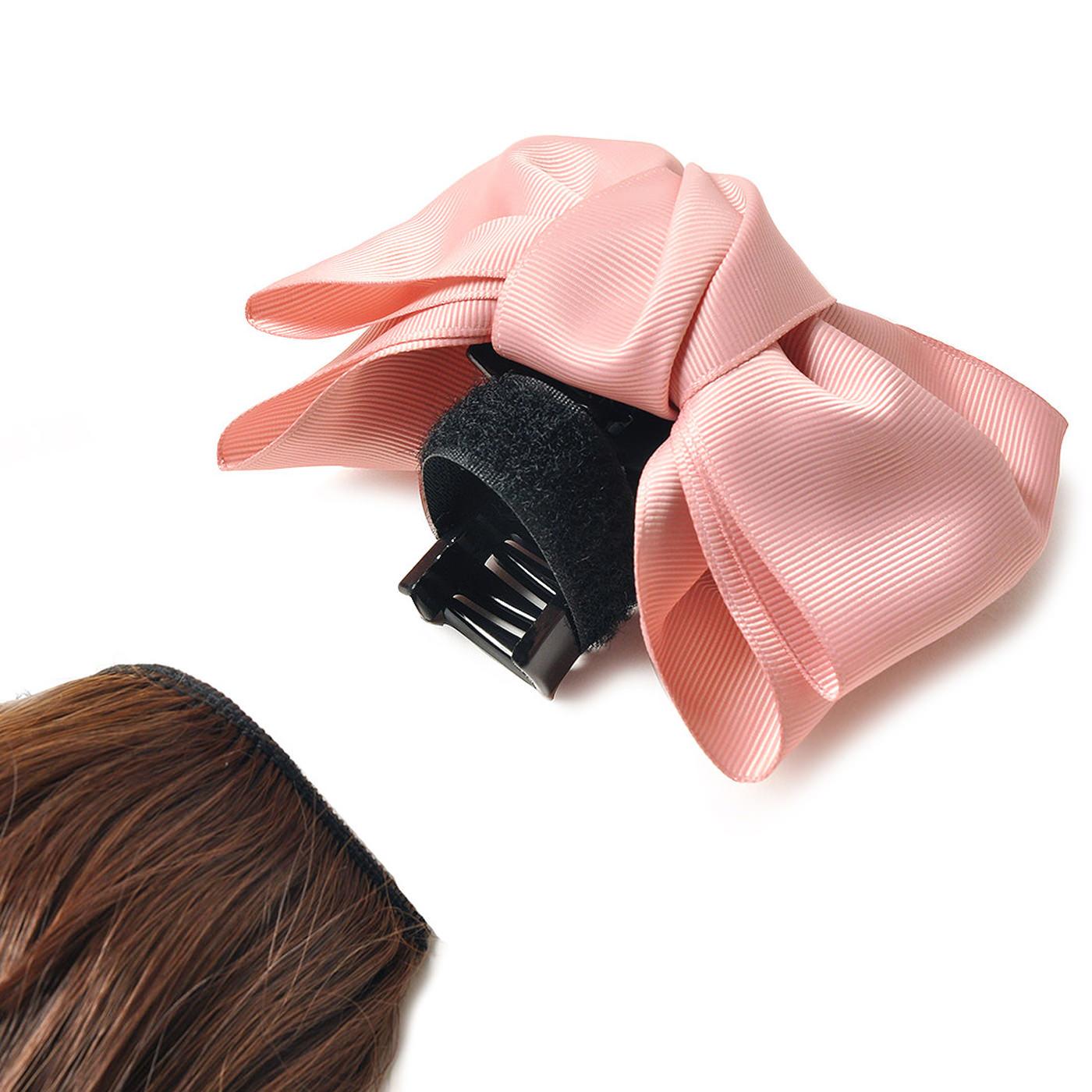 毛束は、バンスクリップから外してお手入れすることができます。