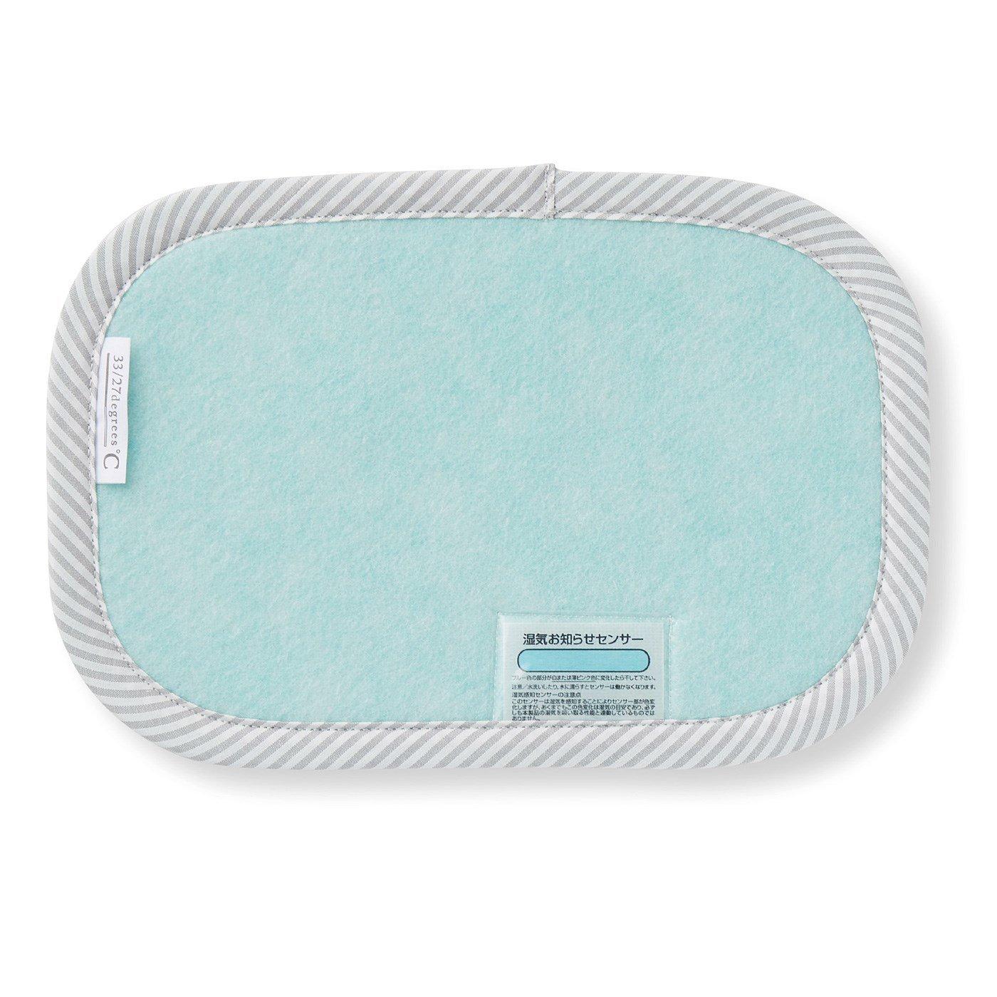 枕の湿気を吸収 繰り返し使える吸湿シート(枕用)