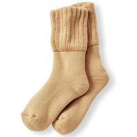 フェリシモ リブ イン コンフォート はき口ゆるやかで心地いい 綿パイルの暖か靴下の会